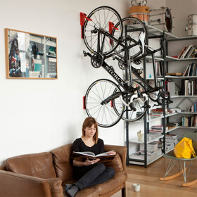 Cycloc Endo Support pour vélo, red/orange